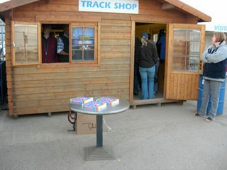 June 14th – A designer table outside the King's Lynn track shop
