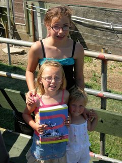 Chelsea, Shannon and Mercedes pose with the book everyone's talking about…