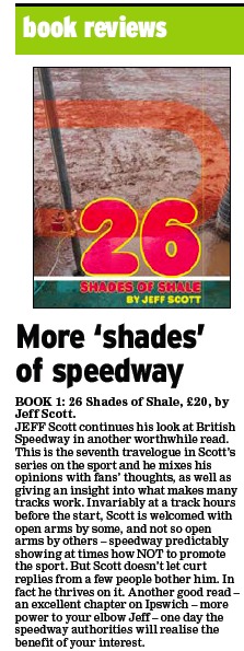 Mike Bacon reviews '26 Shades of Shale' in East Anglian Daily Times